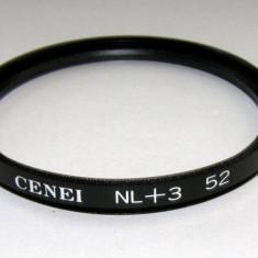 Filtru marire close-up Cenei +3 52mm - Filtru foto