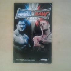 Manual - Smack Down vs Raw 2006 - Playstation PS2  ( GameLand )