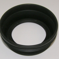 Parasolar guma montura pe FE 50mm - Parasolar Obiectiv Foto