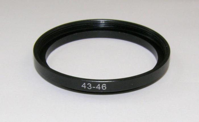 Inel foto adaptor step up metalic de la 43 la 46