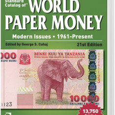 Standard Catalog of World Paper Money - modern issues - 1961 - present, 21 - th