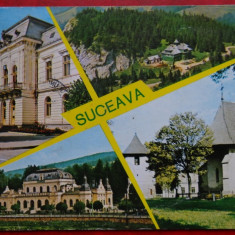 CP - Vedere - RPR - Suceava - Carte Postala Moldova dupa 1918, Circulata, Printata