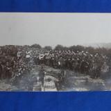 FOTOGRAFIE MILITARA VECHE * PELERINAJ LA CIMITIRUL EROILOR - CLUJ - 20 MAIU 1920 - Fotografie veche