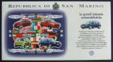 SAN MARINO 1997 - INDUSTRIA AUTO  4 VALORI IN M/SH, NEOBLITERATA - SM 028