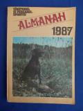 ALMANAHUL VANATORULUI SI PESCARULUI SPORTIV * 1987