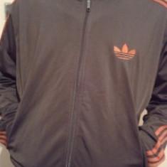 Jacheta sport Adidas Originals pentru barbati, - Jacheta barbati Adidas, Marime: L, Culoare: Maro, Poliester