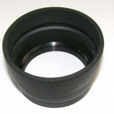 Parasolar guma 55mm _2 - Parasolar Obiectiv Foto