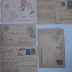 Lot 4 carti postale / C1DP - Carte Postala Transilvania dupa 1918, Circulata, Printata