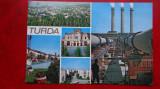 CP - Vedere  - RPR -  Turda, Circulata, Printata