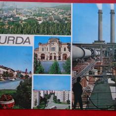 CP - Vedere - RPR - Turda - Carte Postala Transilvania dupa 1918, Circulata, Printata