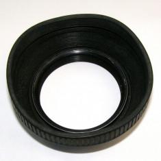 Parasolar guma 55mm _3 - Parasolar Obiectiv Foto