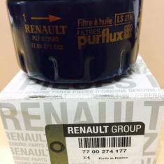 Filtru ulei Purflux LOGAN, SOLENZA, RENAULT 1.4/1.6MPI ORIGINAL 7700274177, Dacia