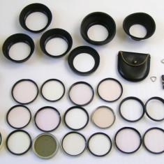 Lot filtre / parasolare si alte accesorii fotografie