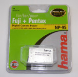 Cumpara ieftin Acumulator Hama Fuji NP-95 Li-Ion 3.6V 5.4Wh 1500mA
