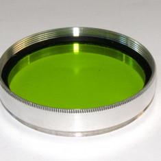 Filtru galben verde 49mm - Filtru foto