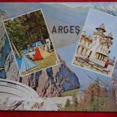 Vedere - Carte postala - Arges