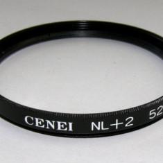 Filtru marire close-up Cenei +2 52mm - Filtru foto