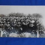 FOTOGRAFIE MILITARA VECHE * PELERINAJ LA CIMITIRUL EROILOR DE RAZBOI, 20 MAI 1920 - Fotografie veche