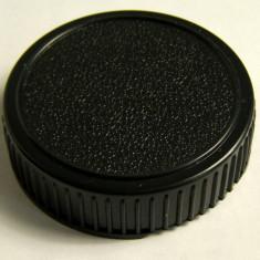 Capac spate obiectiv montura Canon - Capac Obiectiv Foto