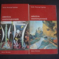 G. MORPURGO-TAGLIABUS - ESTETICA CONTEMPORANA 2 vol {col BIBLIOTECA DE ARTA}