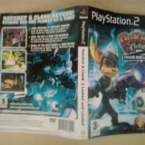 Coperta - Ratchet and Clank - Loked and loaded  - Playstation PS2 ( GameLand )