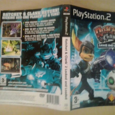 Coperta - Ratchet and Clank - Loked and loaded - Playstation PS2 ( GameLand ), Alte accesorii