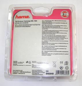 Acumulator Hama Samsung SBL-160 Li-Ion 7.4V 13.3Wh 1800mA