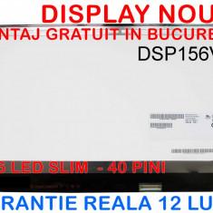 DISPLAY 15.6 LED SLIM 40PINI - B156XW04 V.5 NOU - GARANTIE - Display laptop