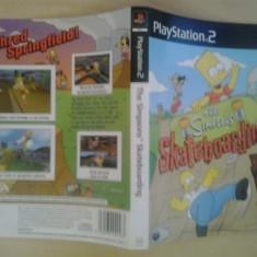 Coperta - The Simpsons Skateboarding - Playstation PS2 ( GameLand )