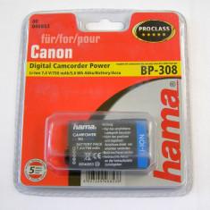 Acumulator Hama Canon BP-308 Li-Ion 7.4V 5.6Wh750mA