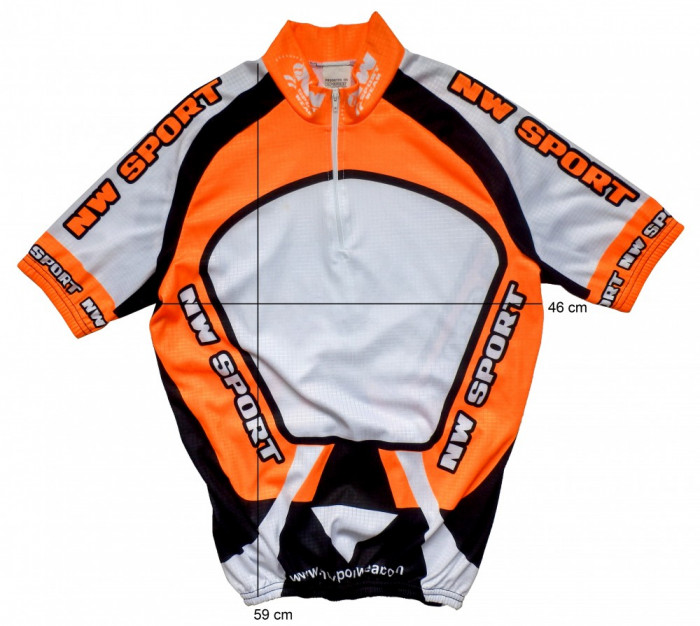 Tricou bicicleta ciclism NEW SPORT respirabil (XS) cod-172146 foto mare