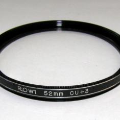 Filtru Rowi marire close-up +3 52mm - Filtru foto