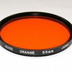 Filtru Orange Kood 55 mm - Filtru foto