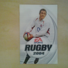 Manual - Rugby 2004 - Playstation PS2 ( GameLand ), Alte accesorii