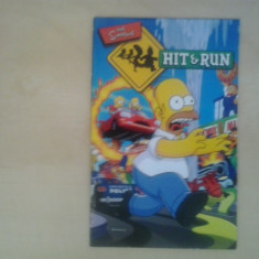 Manual - The Simpsons Hit and run - Playstation PS2 ( GameLand )