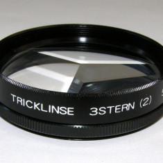 Filtru tricklinse 3stern 52mm miraj multiplica imaginea de 3 ori - Filtru foto