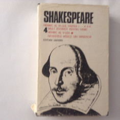 SHAKESPEARE OPERE, VOL 4, RF2/4, RF9/1 - Carte Teatru