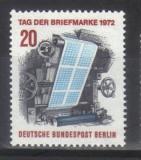 GERMANIA BERLIN 1972, Ziua Marcii Postale, serie neuzata, MNH