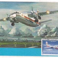 % ilustrata maxima -ZIUA AVIATIEI 1983 Antonov AN-24, Europa