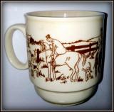 Cumpara ieftin Cana ceramica vintage, echitatie - Klinkraft - Coloroll- Anglia