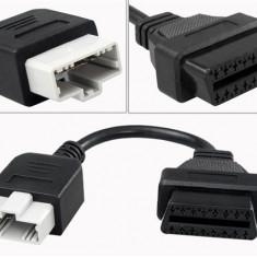 Cablu adaptor 5 Pin la 16 Pin OBD2 pentru Honda