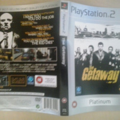 Coperta - The Getaway PLATINUM - PlayStation PS2 ( GameLand )