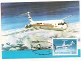 % ilustrata maxima -ZIUA AVIATIEI 1983 Ilyushin IL-62