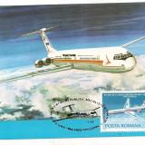 % ilustrata maxima -ZIUA AVIATIEI 1983 Ilyushin IL-62, Europa