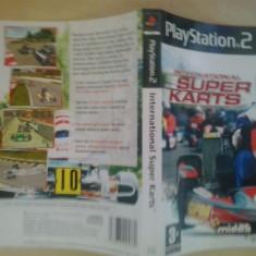 Coperta - International Super Karts - Playstation PS2 ( GameLand )