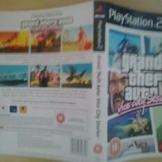 Coperta - Grand Theft Auto Vice City Stories - GTA - PS2 ( GameLand )