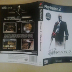 Coperta - Hitman 2 Silent assasin - Playstation PS2 ( GameLand )