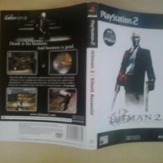 Coperta - Hitman 2 Silent assasin - Playstation PS2 ( GameLand )