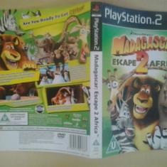 Coperta - Madagascar - Escape 2 Africa - Playstation PS2 ( GameLand )