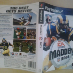 Coperta - Madden NFL 2005 - Playstation PS2 ( GameLand )